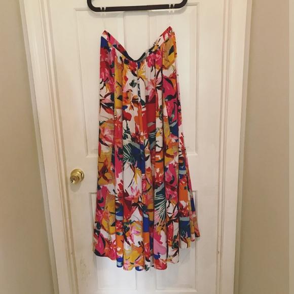 Cupio Dresses & Skirts - Cupio floral maxi skirt